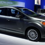 Ford Develops Solar-Powered Car (A C-Max)