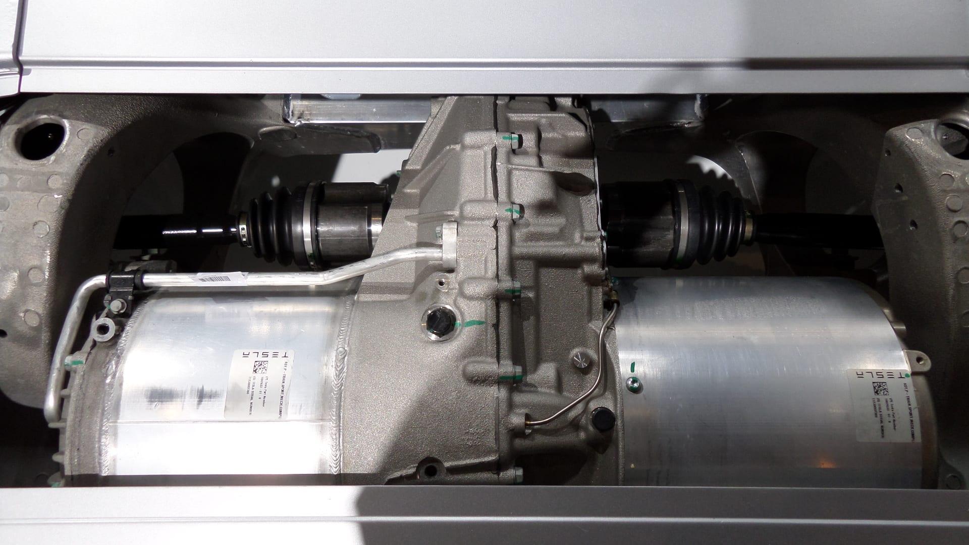 Tesla Model S motor