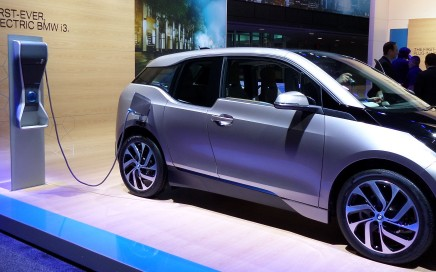 BMW i3 at the NAIAS. Image Credit: Kompulsa.