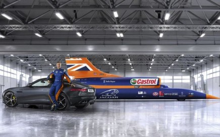 The Bloodhound SSC.  Image obtained with thanks from CarThrottle.