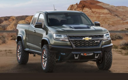 The 2015 Chevrolet Colorado pickup truck.