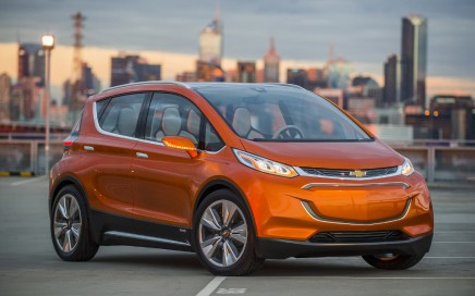 The Chevy Bolt EV.