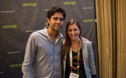 Entourage star Adrian Grenier during a meet and greet