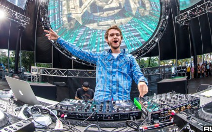 Anton Zaslavski (Zedd) at a UMF event.