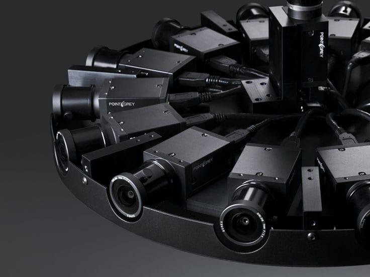 Facebook Surround 360, a 360 degree camera.