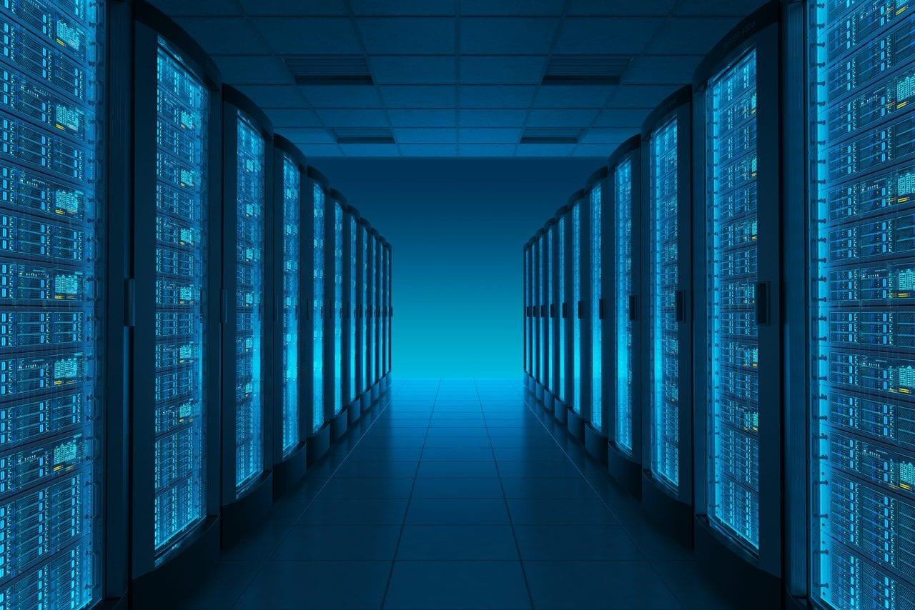 Server room/datacenter - Bigstock