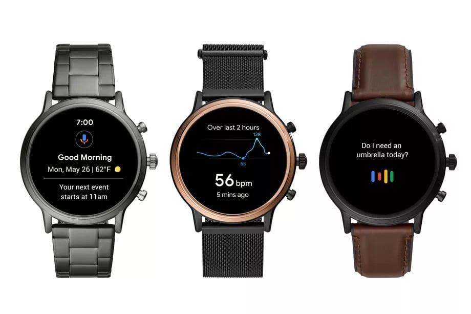 Fossil Gen 5 smartwatches