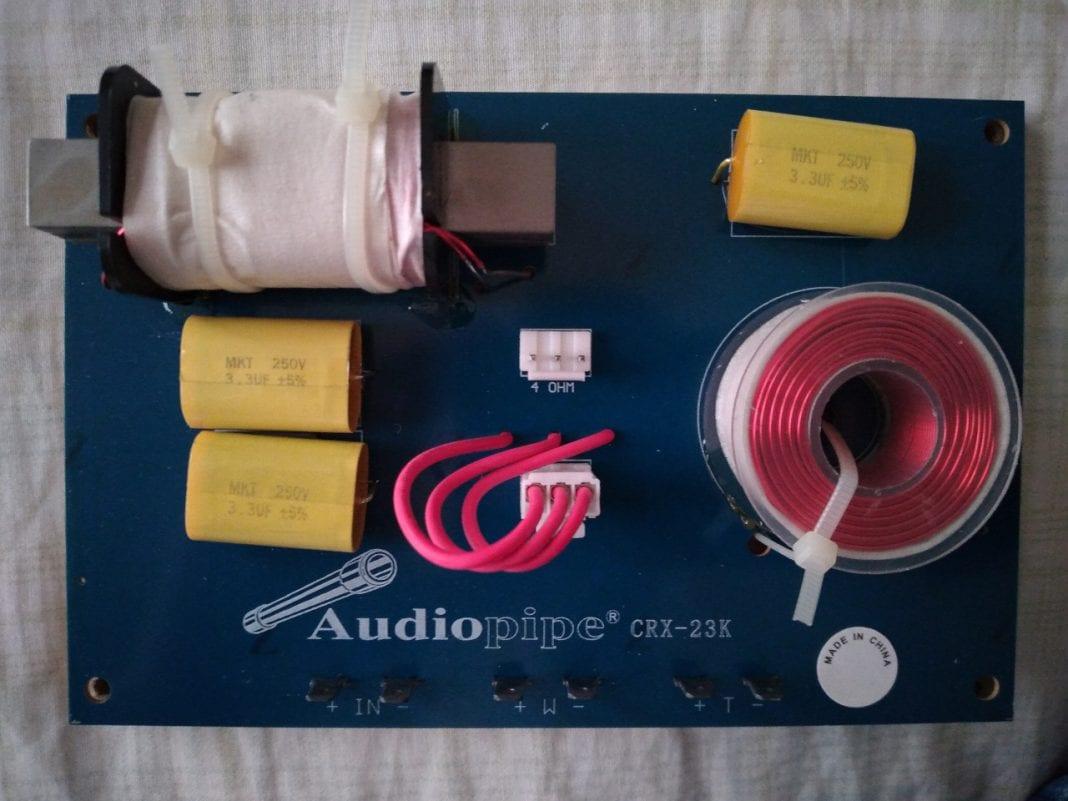 A speaker crossover